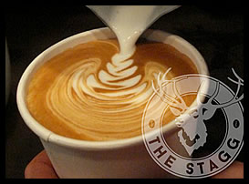 The Stagg coffee shop in Hobart